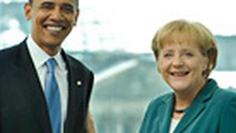 Gipfeltreffen in Straßburg: Schöner Amerikaner, gelassene Deutsche