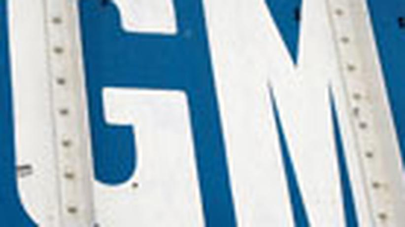 Autokrise: GM droht Gefahr von unten