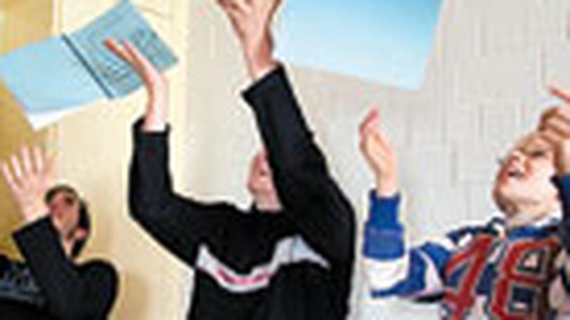 """Lernen: """"Pinguin"""" im Pausenhof"""