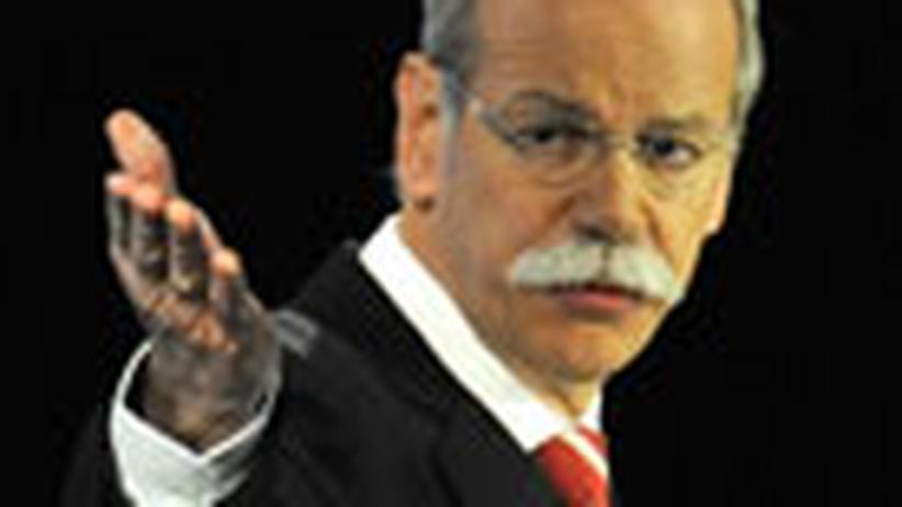 Inszenierungskunst: Schlag den Daimler!
