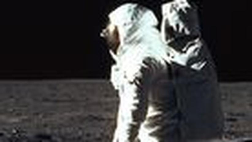 Mondlandung: Die da oben