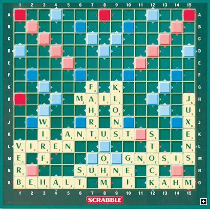 Spiele: Scrabble