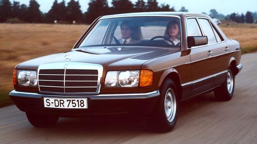 Die Mercedes-S-Klasse der Achtziger Jahre