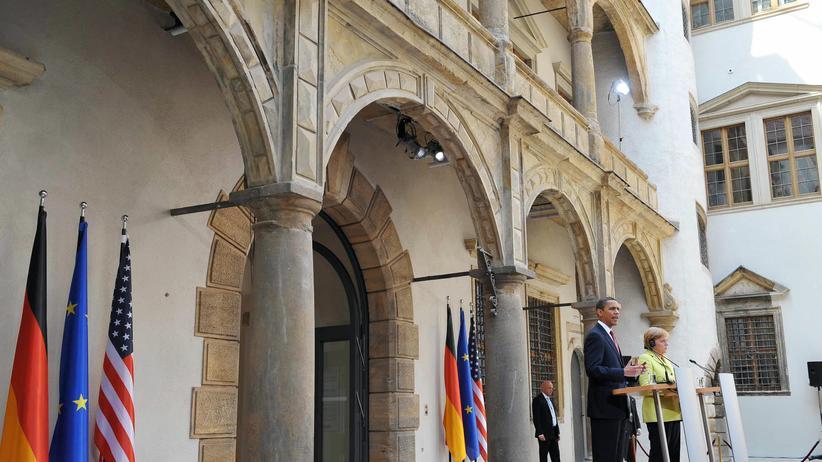 USA: Barack in Buchenwald