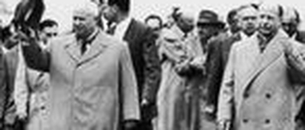 Nikita Chruschtschow und Walter Ulbricht 1960 in Ostberlin