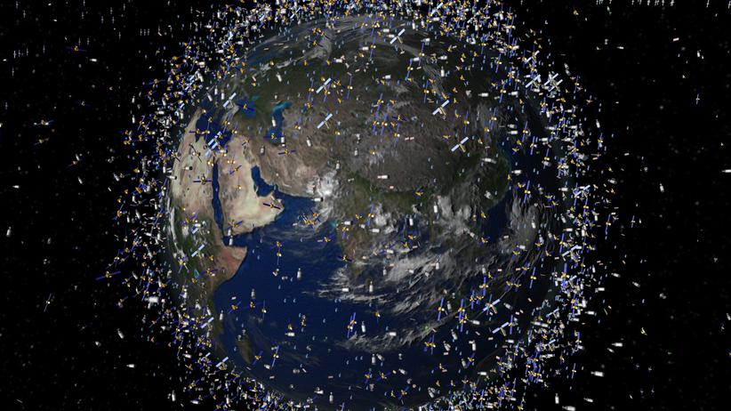 Raumfahrt: Mülltrennung  im Orbit