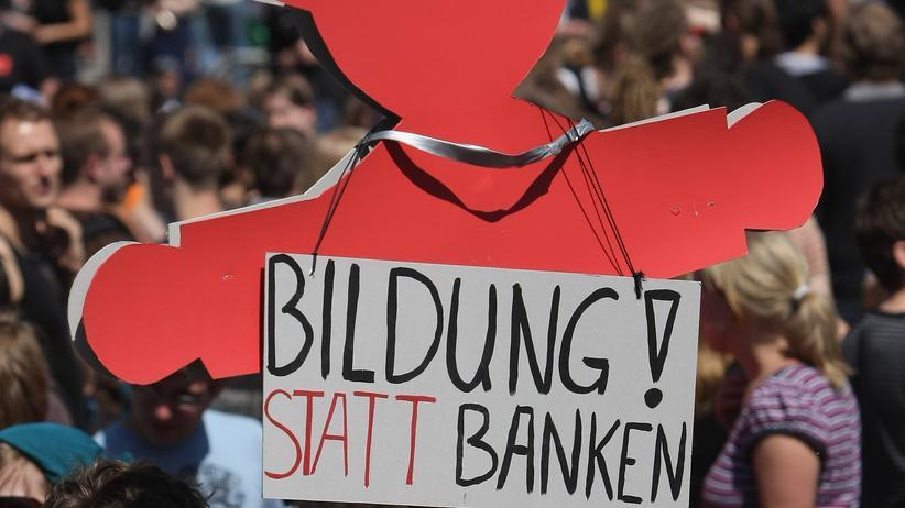 Bildungsstreik: Baustelle Bildung
