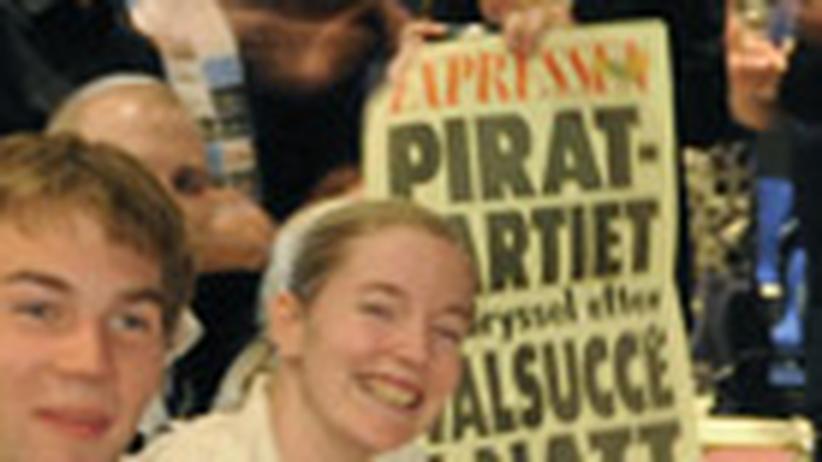 Piratenpartei: Die Piraten werden politisch
