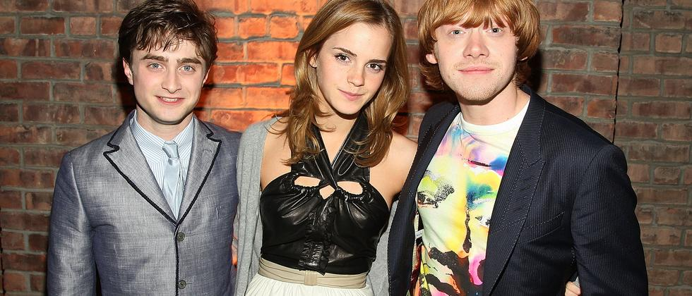 Das bewährte Hauptdarsteller-Trio Daniel Radcliffe, Emma Watson und Rupert Grint