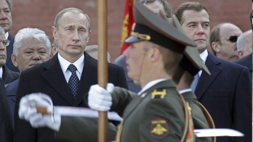 Putin  Medwedjew
