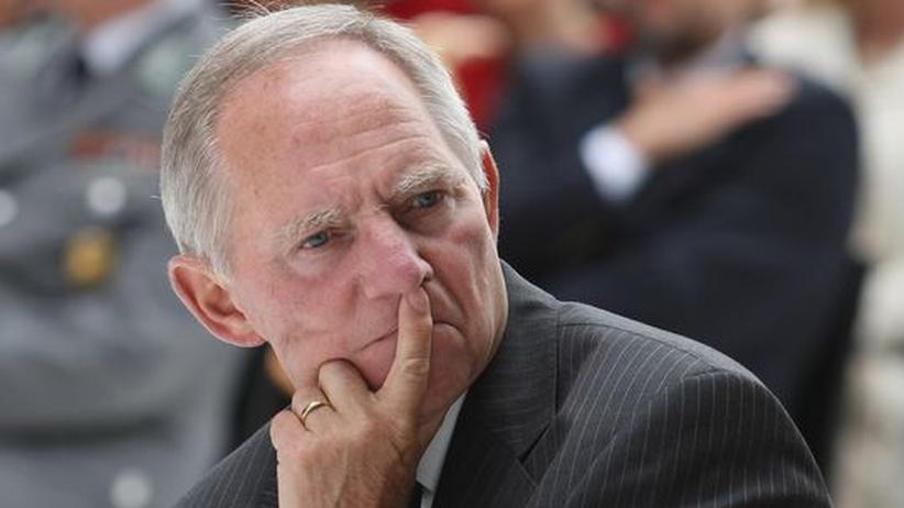 """""""Der Sport hat seine Unschuld verloren"""": Wolfgang Schäuble, Minister für Sport und oberster Dienstherr von Claudia Pechstein"""