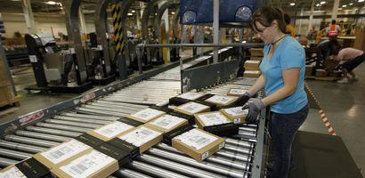 Amazon-Packzentrum in den USA