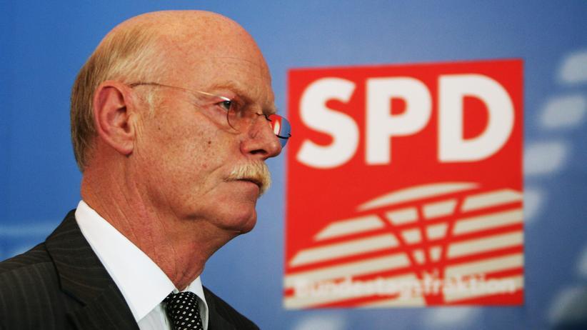 """Peter Struck: """"Kohl war nicht so wischiwaschi"""""""
