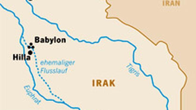 Babylon Karte.Archäologie In Irak Der Banausen Bau Zu Babel Zeit Online