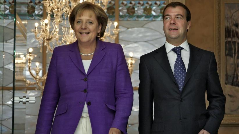 Merkel in Sotschi: Zu Gast bei russischen Freunden