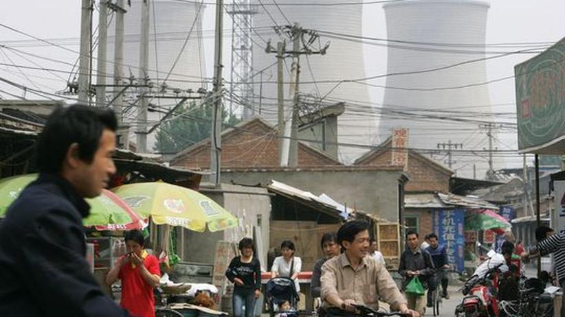 ohlekraftwerkes bei Peking