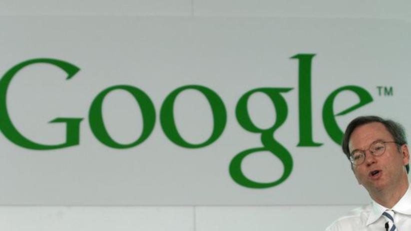 Eric Schmidt, Gründer und Chef von Google