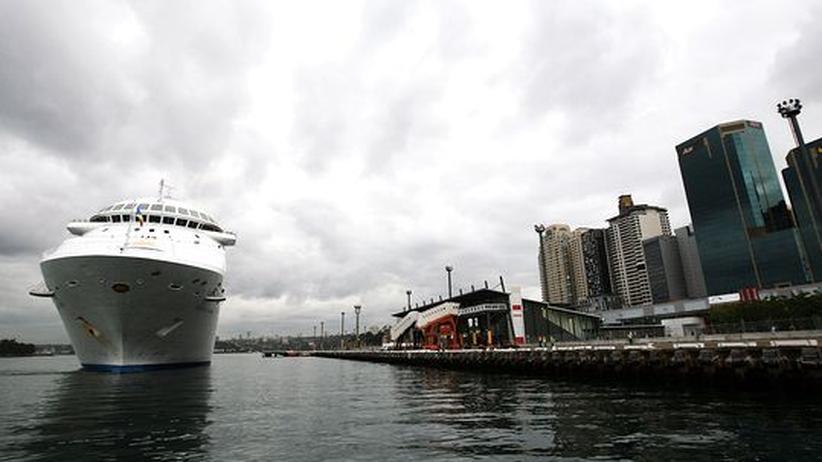 schweinegrippe in australien: das schiff pacific dawn musste seinen kurs ändern