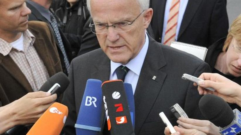 Nordrhein-Westfalens Ministerpräsident Jürgen Rüttgers (CDU)