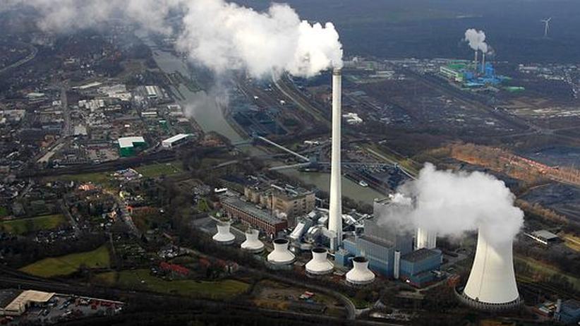 Das Kohlekraftwerk Herne Baukau, das zu Evonik gehört