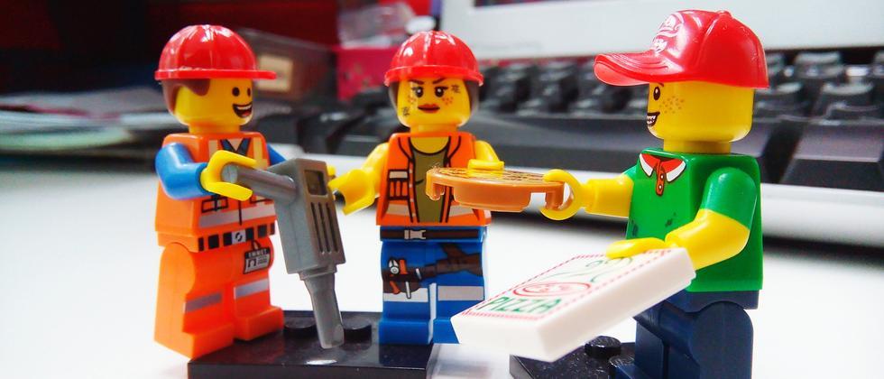 Basteln: Endlich wieder Lego!