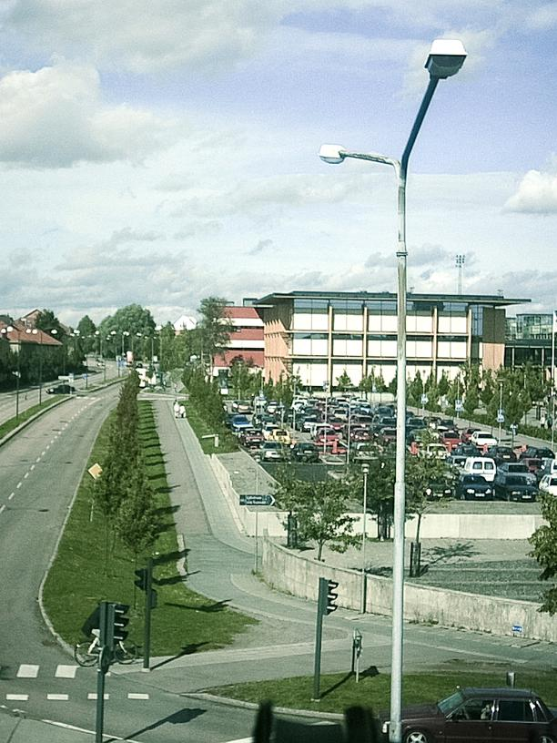 Schweden: Die Bibliothek der Universität Mälardalen