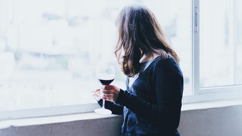 Der Männeralkoholismus der Besonderheit