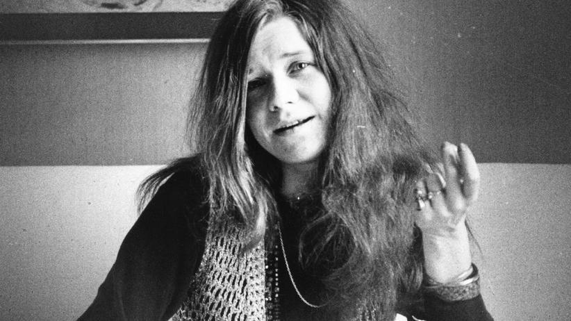 Janis Joplin: Sie soff, sang und schniefte