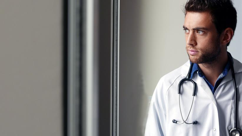 Wir weißen Medizinstudenten