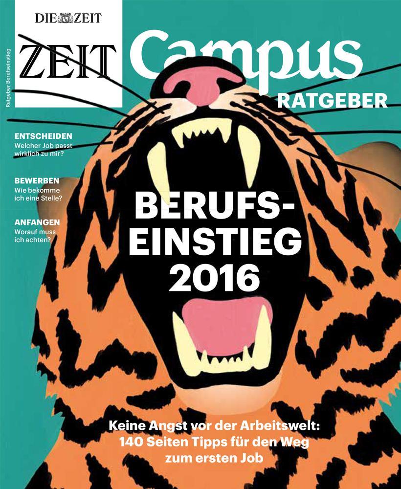 ZEIT Campus Ratgeber 1/2016