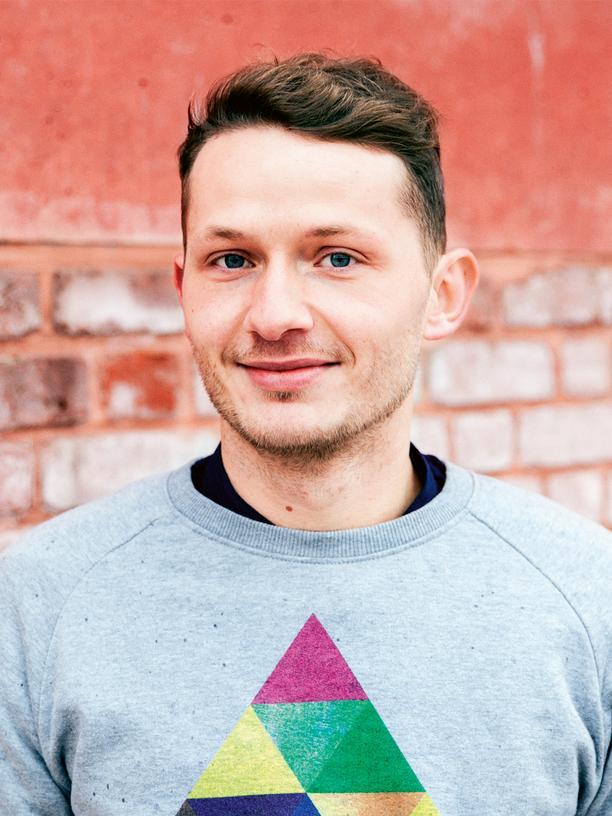 Flüchtlinge: Leon Sautier, 31, hat Psychologie studiert und macht gerade seine Ausbildung zum Psychotherapeuten.