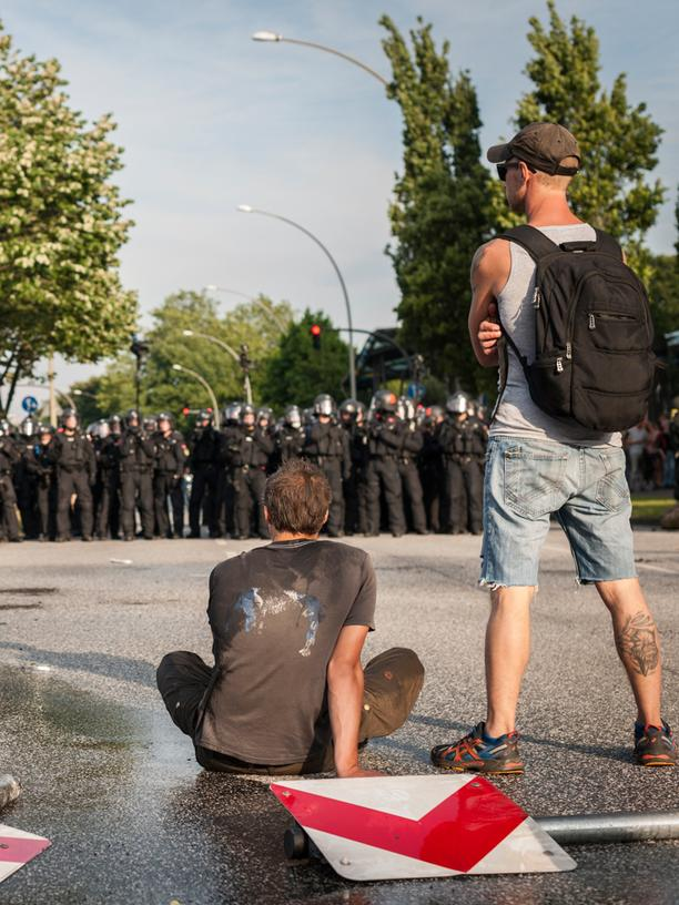 G20-Protest: