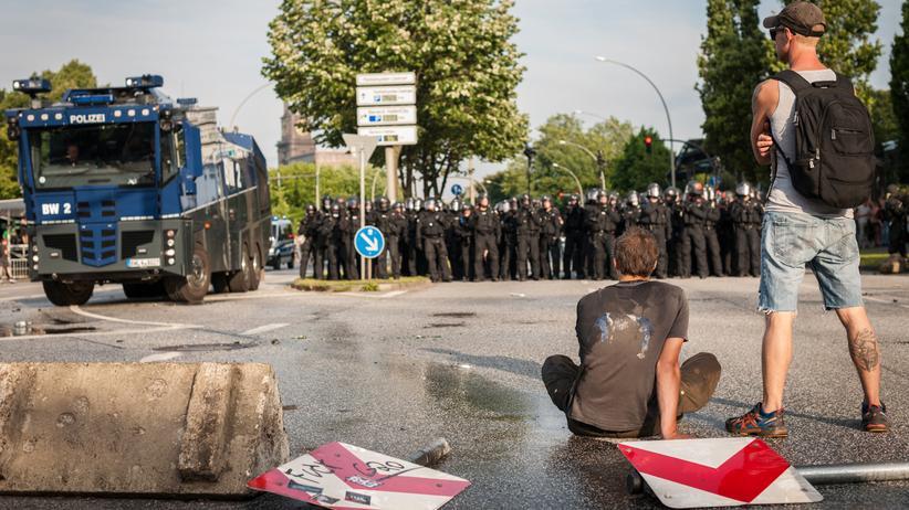 G20-Protest: Irgendwie links, irgendwie gegen Gewalt, irgendwie dafür