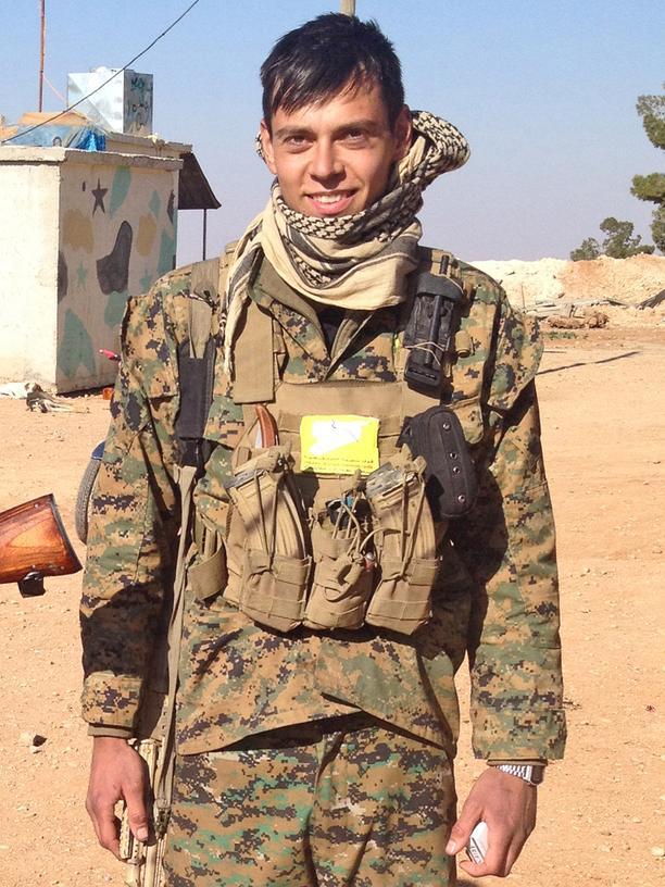 Syrien: Jan-Lukas wollte lieber an der Seite der Kurden den IS bekämpfen.