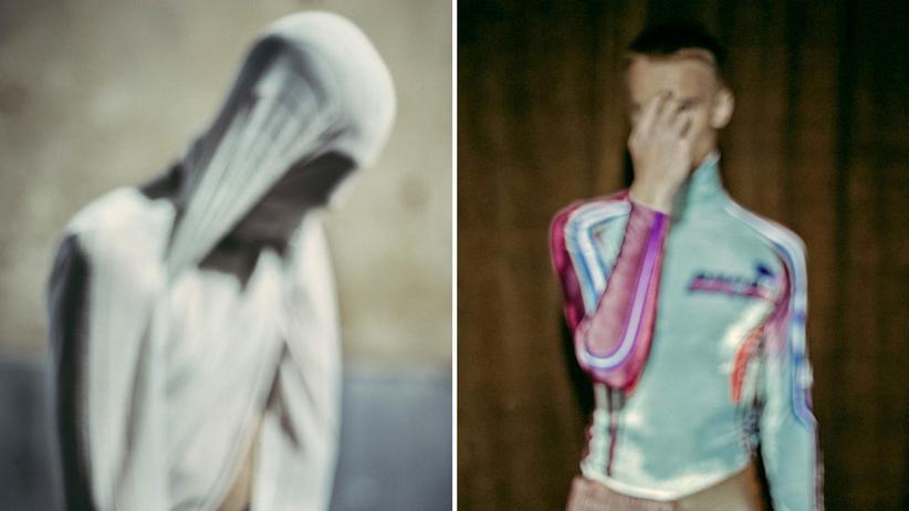 "Suizid: Kollektion ""Your Hands Are Sweaty"" von Michał Gruca / Kollektion ""Ambivalence"" von Stefan Kartchev (rechts)"