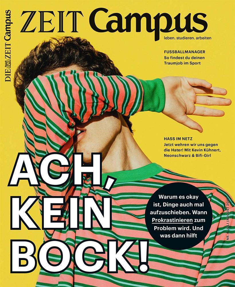 Blockaden: Dieser Text stammt aus dem ZEIT Campus Magazin 4/18.