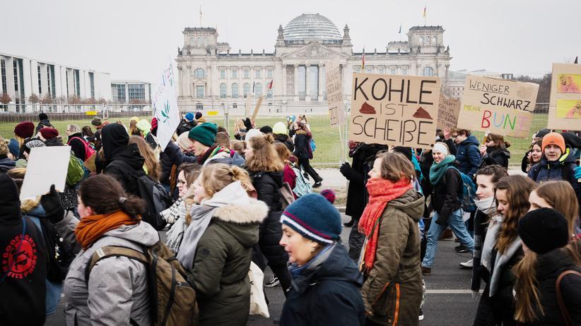 Fridays for Future: Luisa organisierte im Januar den ersten zentralen Schulstreik. Fast 10.000 Schülerinnen und Studierenden demonstrierten in Berlin für den Klimaschutz.