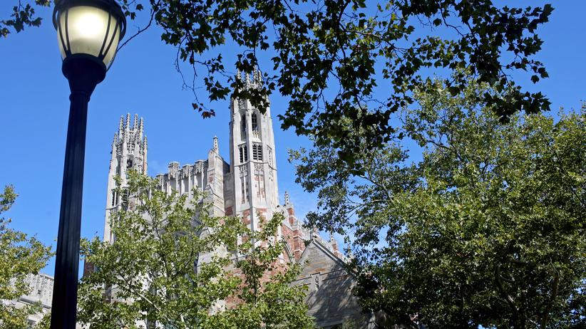 Elite-Unis in den USA: Die Yale Law School in New Haven im US-Bundesstaat Connecticut