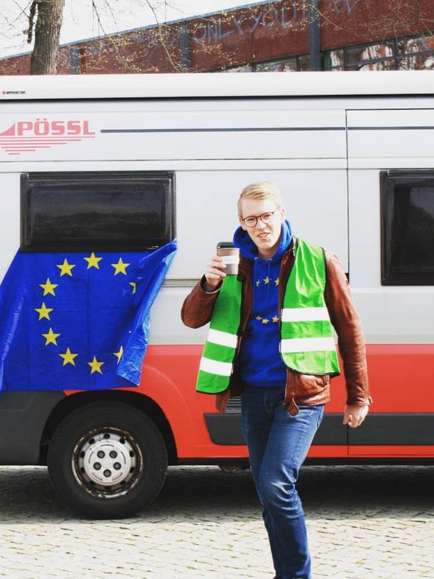 Sie sind gekommen, um Europa zu retten