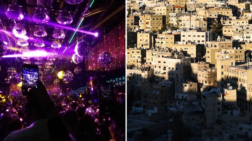 Jordanien: Küssen werden sie sich erst zu Hause