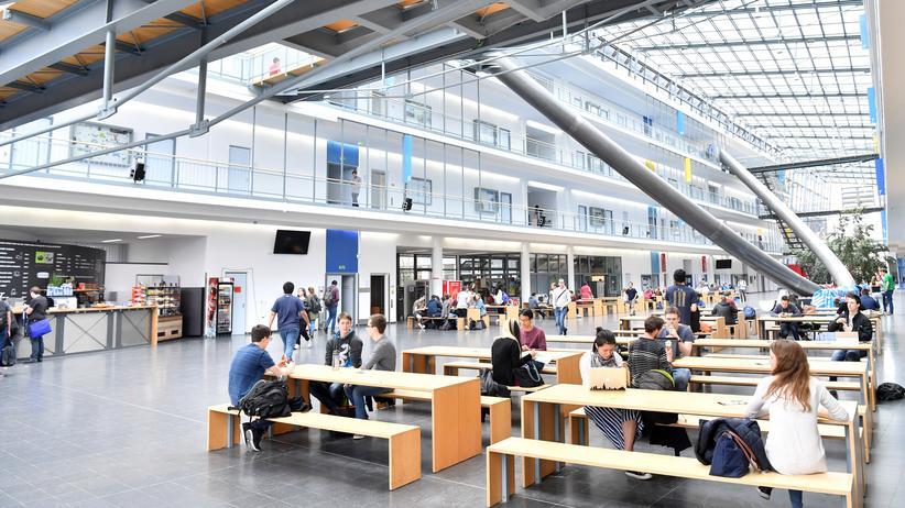 Ausbildungsförderung: Studierende an der Technischen Universität München