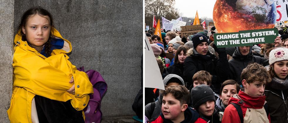 Greta Thunberg: Am Anfang saß ein Mädchen auf der Straße