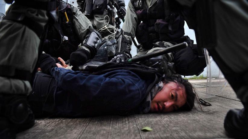 """Proteste in Hongkong: """"Was haben wir denn noch zu verlieren?"""""""