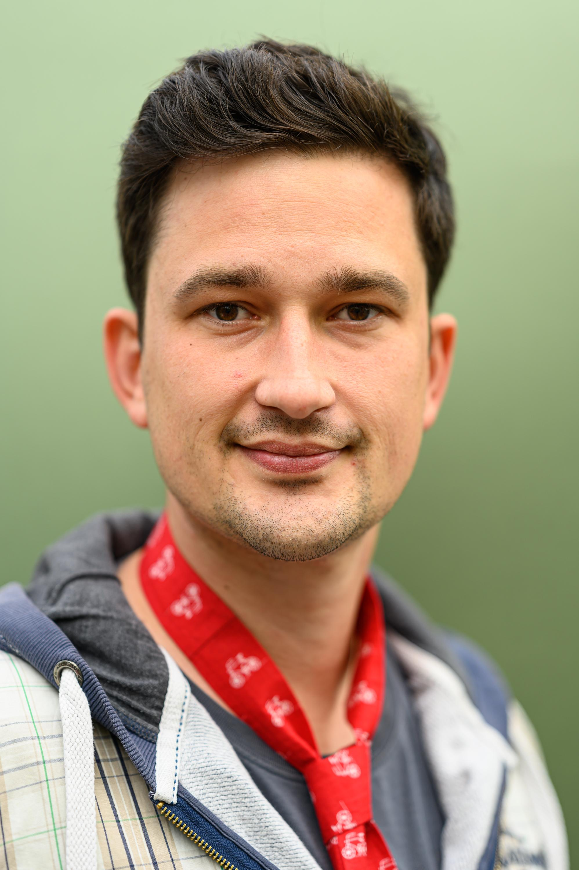 Klimaprotest: Frederik Leidloff, 32, Vater aus Berlin