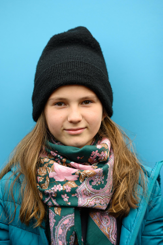 Klimaprotest: Senta Lauffer, 11, Schülerin aus Berlin