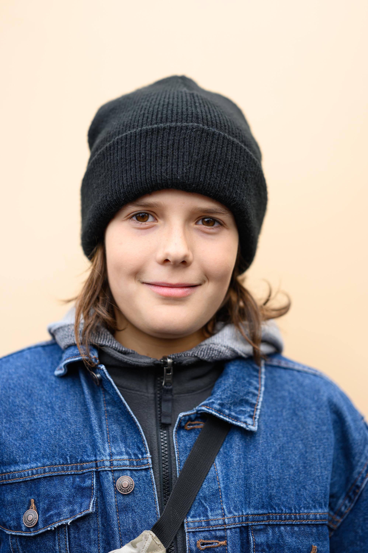Klimaprotest: Yoel Shekel, 11, Schüler aus Berlin