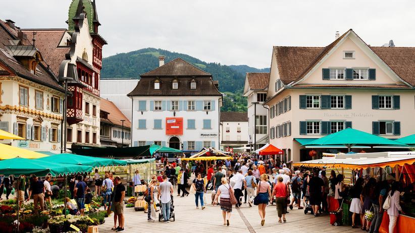 Homosexualität: Marktplatz in Dornbirn
