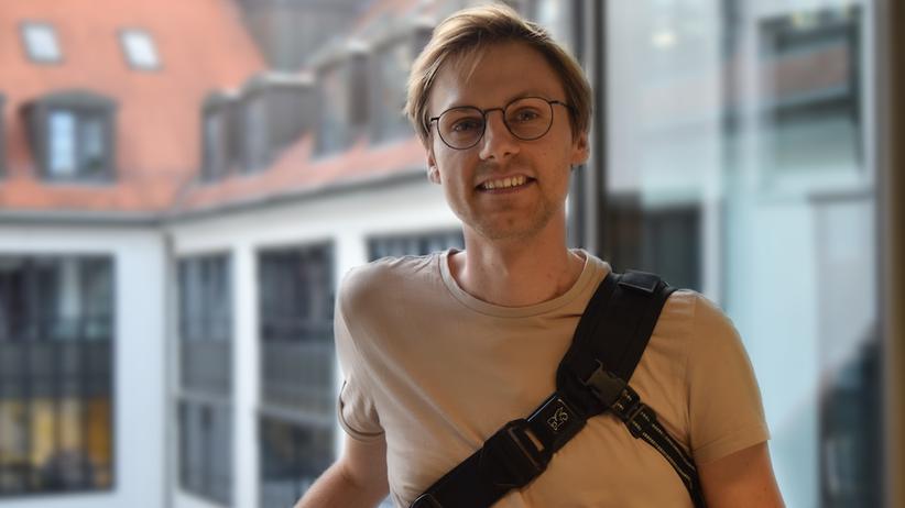 Organspende: Golo, Student aus Leipzig, wartet auf ein neues Herz