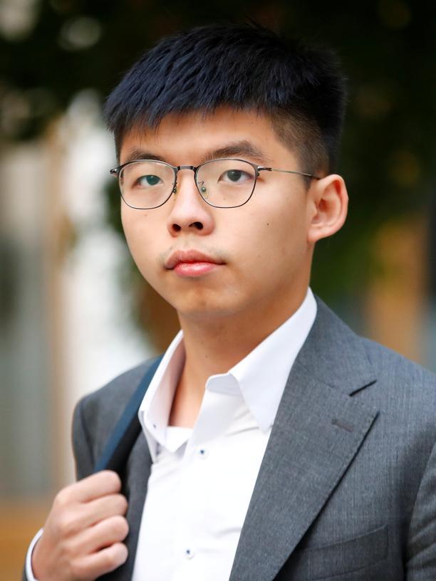 """Joshua Wong: Joshua Wong sagt: """"Unser Protest bringt etwas, deshalb machen wir weiter."""""""