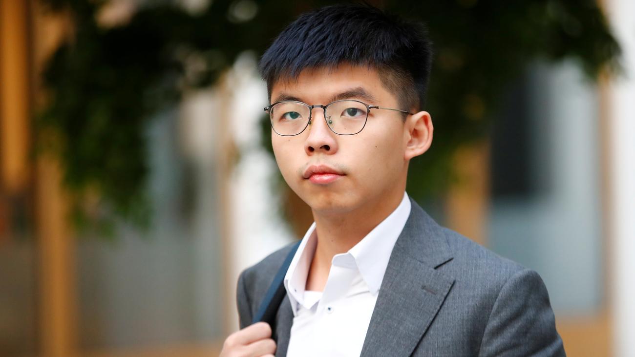 """Joshua Wong: """"Die Frage ist doch: Warum werden Demonstranten gewalttätig?"""""""